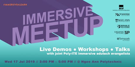 Immersive EduTech Meetup: Let's Build! tickets