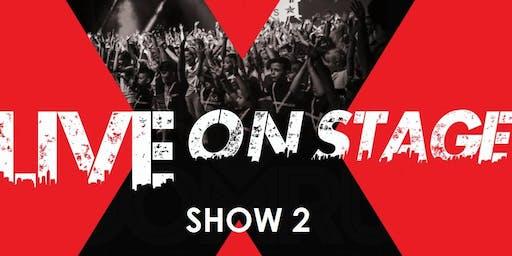 SHOW 2 (15:00 - 17:00)  LIVE ON STAGE - HOOMRUN DANCE STUDIOS