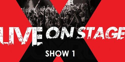 SHOW 1 (12:00 - 14:00)  LIVE ON STAGE - HOOMRUN DANCE STUDIOS