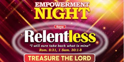 EMPOWERMENT  PRAYER NIGHT