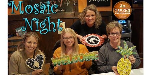 DIY Mosaic Craft Night in St. Mary's, GA