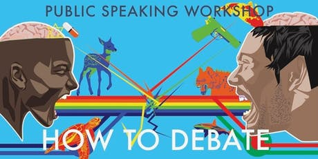 Let's Debate| Public speaking workshop entradas