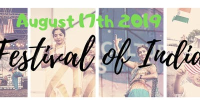Festival of India 2019 Vendor Booking