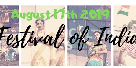 Festival of India 2019 Vendor Booking tickets