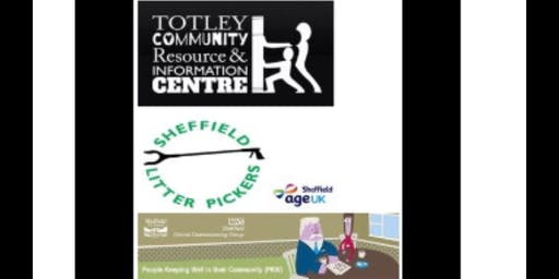 Dore and Totley Outdoor Taskforce- Library Gardening