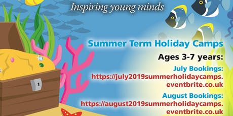 Summer Holiday Camps - July 2019 3 - 7 Years only! tickets