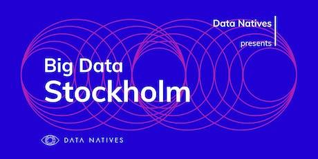 Big Data Stockholm v 7.0 biljetter