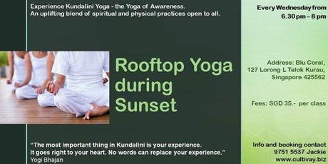 Rooftop Yoga during Sunset under the Stars tickets