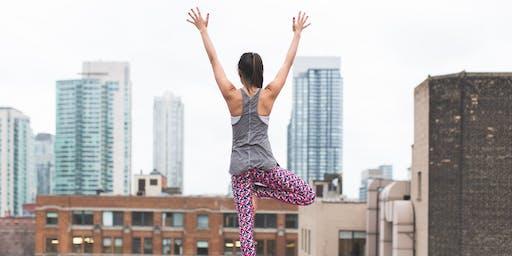 Free Yoga + Mimosa = Sunday Funday