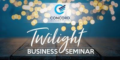 Twilight Business Seminar