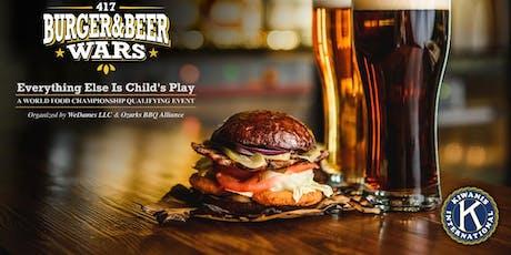 417 Burger & Beer Wars tickets