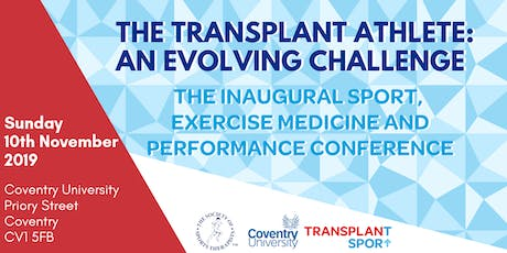 The Transplant Athlete - An Evolving Challenge tickets