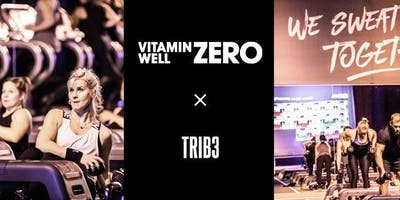 Vitamin Well ZERO x TRIB3 workout