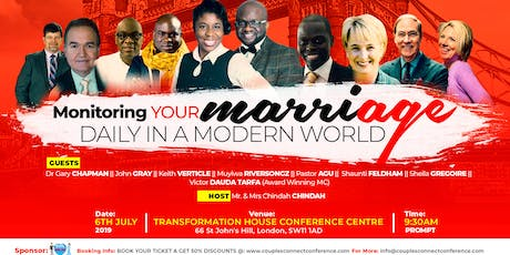 COUPLES CONNECT CONFERENCE LONDON 2019 tickets