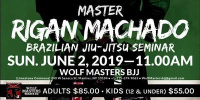 Master Rigan Machado Brazilian Jiu-Jitsu  Seminar