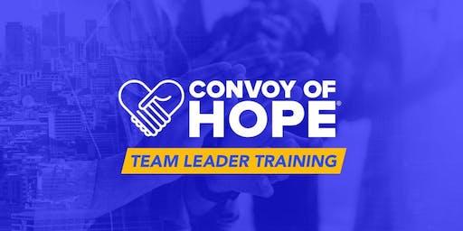 Convoy Team Leader Training