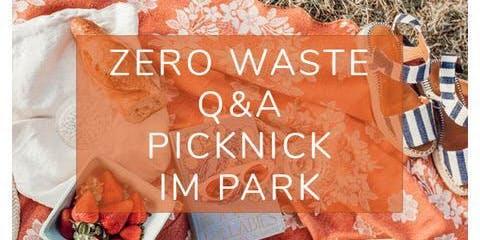 ZeroWaste Q&A Picknick im Park