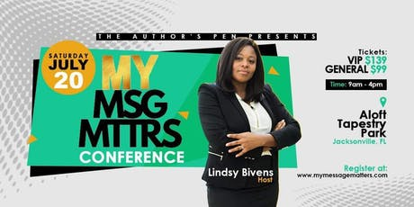 My Message Matters - JACKSONVILLE tickets