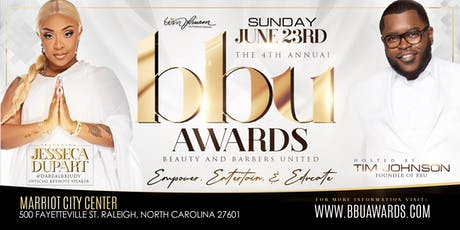4th ANNUAL BBU AWARDS  tickets