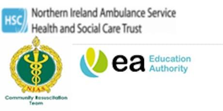 Heartstart UPDATE Training Education Authority - EA Dundonld Offices tickets