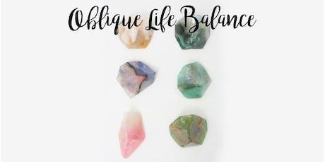 Oblique Life Balance: September tickets