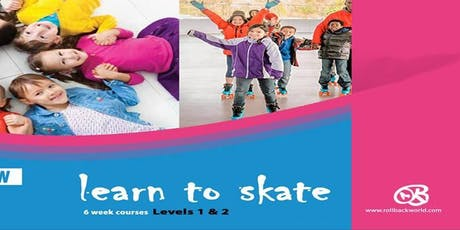 Luton - 'Learn How to Roller Skate' RollBack Skating tickets