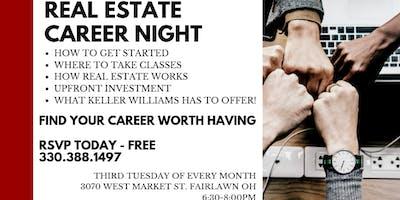 Career Nights at Keller Williams Chervenic Realty
