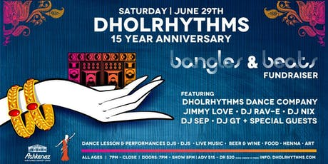 Dholrhythms Dance 15th Anniversary tickets