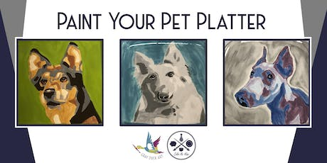 Paint Your Own Pet Pawtery 2 tickets