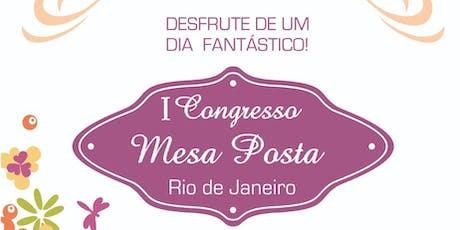 I Congresso de Mesa Posta do Rio de Janeiro ingressos