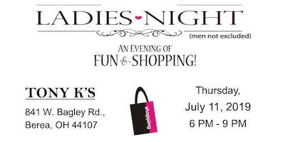Ladies Night Marketing Event (July 11)