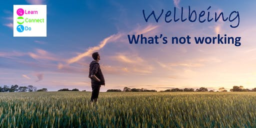 Wellbeing - What's Not Working? - 20th June 2019