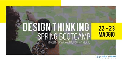 Design Thinking Spring Bootcamp
