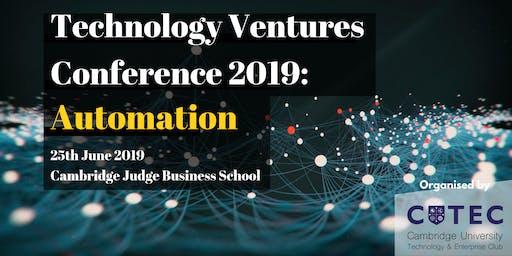 Cambridge TVC 2019: Automation