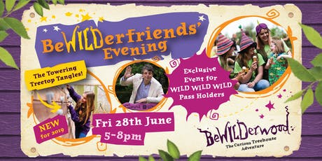 BeWILDerfriends' Evening tickets