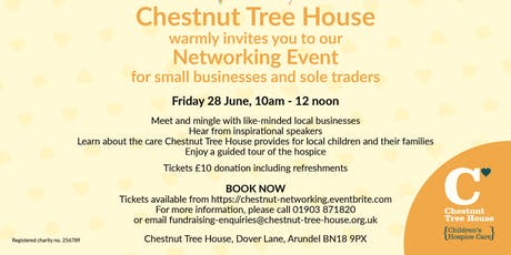Chestnut Tree House Small Business & Sole Trader Networking Event tickets