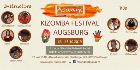 ASANGI-KIZOMBA-FESTIVAL-AUGSBURG 3th Edition Tickets