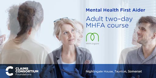 Mental Health First Aid: Adult MHFA Two Day