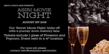 Asiri (Secret) Movie Night tickets