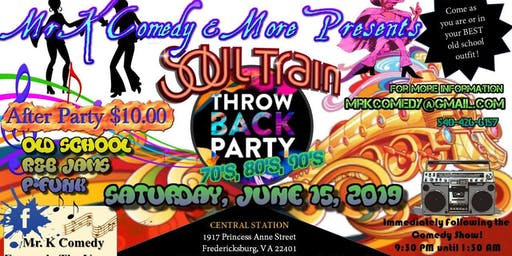 Old School Throw Back party 70s, 80s, & 90s