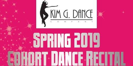 Kim G. Dance Spring 2019 Cohort Dance Recital  tickets