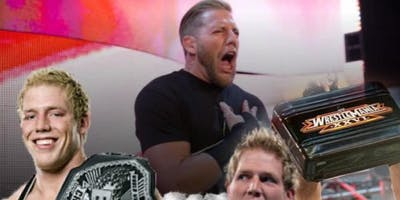 Jake Hager fka Jack Swagger Legends of The Ring Pro Wrestling Fanfest
