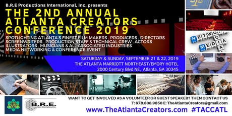 The 2nd Annual Atlanta Creators Conference 2019 tickets