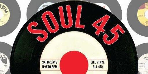 Soul 45 Saturday Brunch with DJ Steven Ferrell