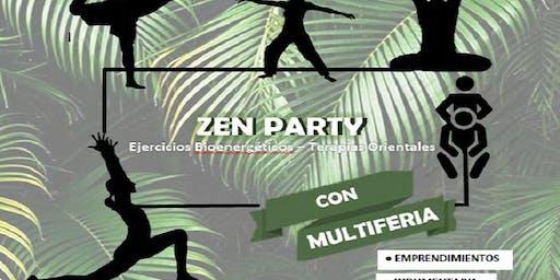 1º Zen Party con MultiFeria