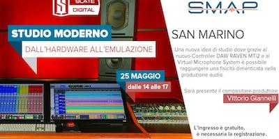 SLATE DIGITAL PRESENTA STUDIO MODERNO - DALL'HARDWARE ALL'EMULAZIONE
