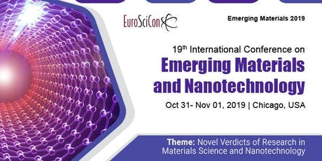 19th International Conference on Emerging Materials and Nanotechnology tickets