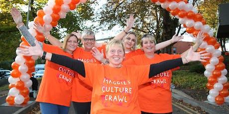 Maggie's Culture Crawl Nottingham 2019 Volunteer Form tickets