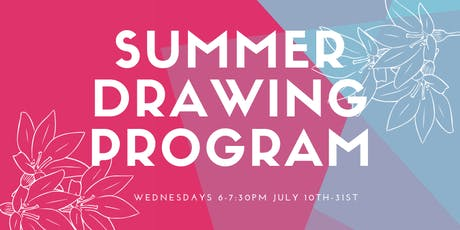Youth Summer Drawing Program tickets