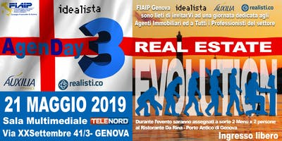 AgenDAY III - Real Estate Evolution  21 MAGGIO 2019